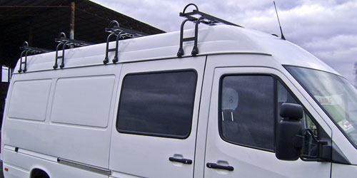Багажник на крышу газели
